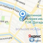 8 пунктов на карте Астрахани