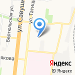 Детский сад №67 на карте Астрахани