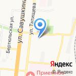 Адвокатский кабинет Павловой Т.В. на карте Астрахани