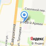Служба доставки товаров IKEA на карте Астрахани