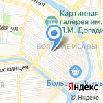 Торговый дом на карте Астрахани