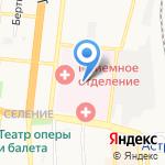 Александро-Мариинская областная клиническая больница на карте Астрахани