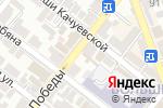 Схема проезда до компании Частное детективное агентство в Астрахани