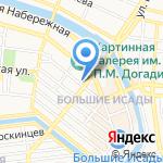 Совушка умная головушка на карте Астрахани