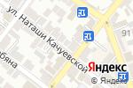 Схема проезда до компании Совушка умная головушка в Астрахани