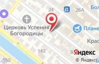 Схема проезда до компании Elegant в Астрахани