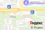 Схема проезда до компании Профи в Астрахани