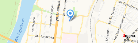 Milashka на карте Астрахани