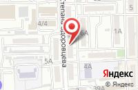 Схема проезда до компании Астраханский Трибунал в Астрахани