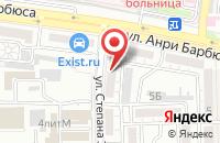 Схема проезда до компании Спутник ТВ в Астрахани