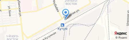 Велес на карте Астрахани