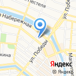 Медико-санитарная часть МВД России по Астраханской области на карте Астрахани