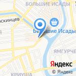 Багетный цех на карте Астрахани