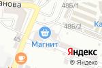 Схема проезда до компании Нордэкс в Астрахани