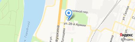 Каспрыбпроект на карте Астрахани