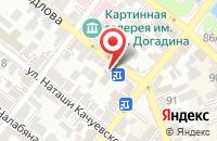 Схема проезда до компании Народные окна в Астрахани