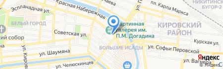 Народные окна на карте Астрахани