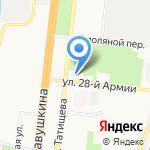 АО Каспрыбпроект на карте Астрахани