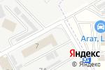 Схема проезда до компании Альбатрос в Астрахани