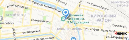 Примадонна на карте Астрахани