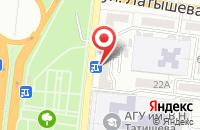 Схема проезда до компании Мундштук в Астрахани