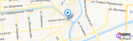 Банкомат Россельхозбанк на карте Астрахани