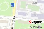 Схема проезда до компании Банкомат, Росбанк, ПАО в Астрахани