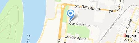 АИСИ на карте Астрахани