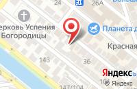 Схема проезда до компании Оскар в Астрахани
