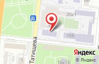 Схема проезда до компании Малая академия архитектуры и дизайна в Астрахани