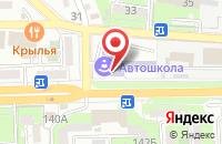 Схема проезда до компании Иван-чай в Астрахани