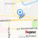 БлокПост на карте Астрахани