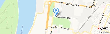 Багдат на карте Астрахани