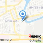 Открытая общеобразовательная школа №6 на карте Астрахани