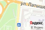 Схема проезда до компании Резерв в Астрахани