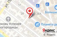 Схема проезда до компании Jamal в Астрахани