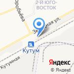 Фобус на карте Астрахани