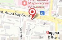 Схема проезда до компании Рекламные мастерские в Астрахани