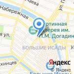 Волга оптика на карте Астрахани