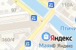 Схема проезда до компании Лариса в Астрахани