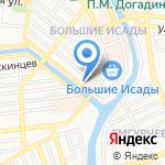 Островок природы на карте Астрахани