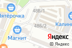 Схема проезда до компании 33 шурупа в Астрахани