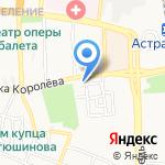 Банк ВТБ 24 на карте Астрахани