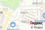 Схема проезда до компании Ангора в Астрахани