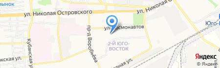 Джинсовый стиль на карте Астрахани
