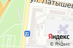 Схема проезда до компании ДИАМЕД-экспресс в Астрахани