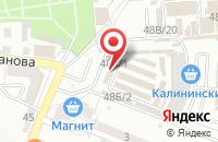 Схема проезда до компании Магазин домашнего текстиля в Астрахани