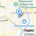 Адамас на карте Астрахани