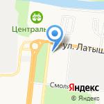 ДИАМЕД-экспресс на карте Астрахани
