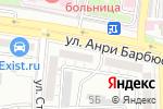Схема проезда до компании Pro Sport-Астрахань в Астрахани